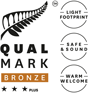Qualmark 3 Star Plus Bronze Award
